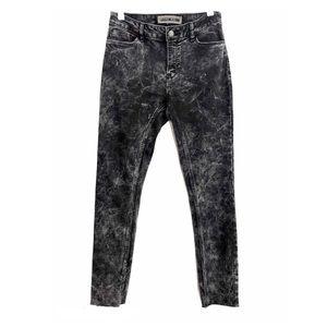 Noisy May Acid Wash Black Skinny Soft Stretch Jean